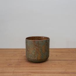 Vaso Lian Verde Cobre D15 A16