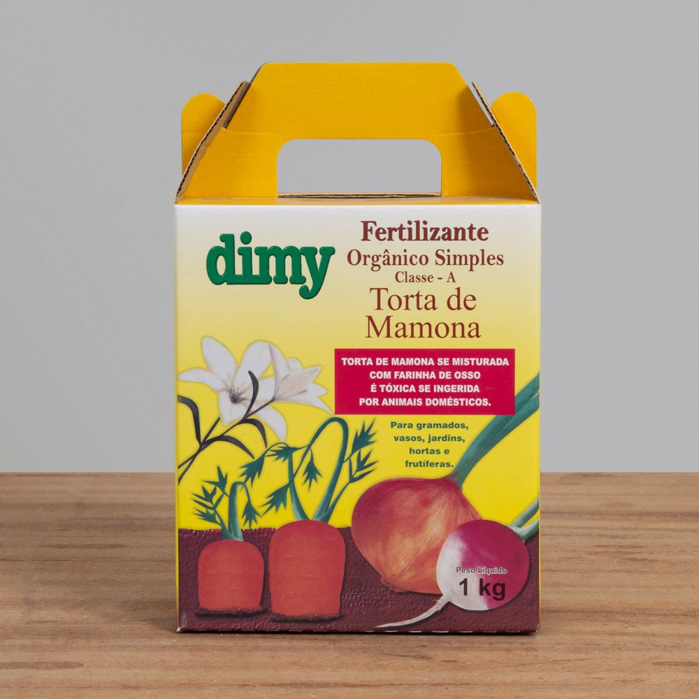 Fertilizante Orgânico Torta de Mamona - Dimy