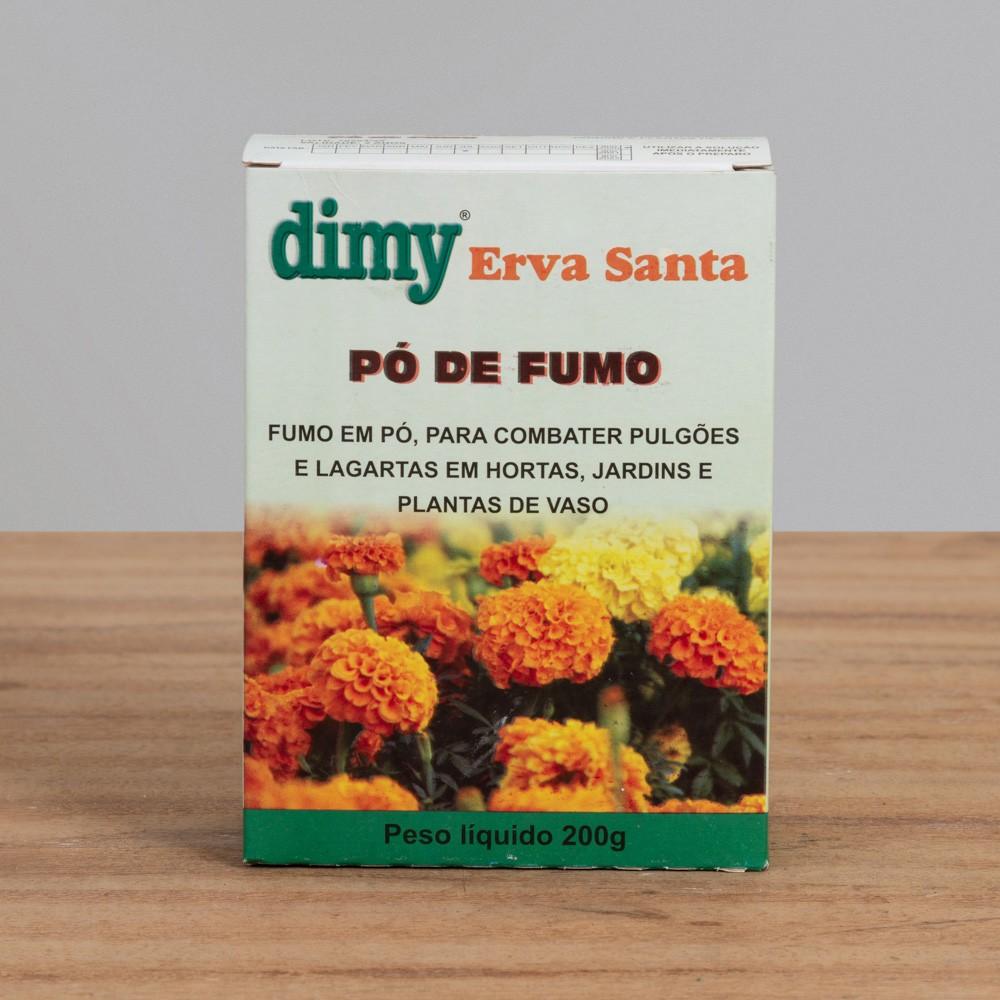 Inseticida Erva Santa - Pó de Fumo - Dimy