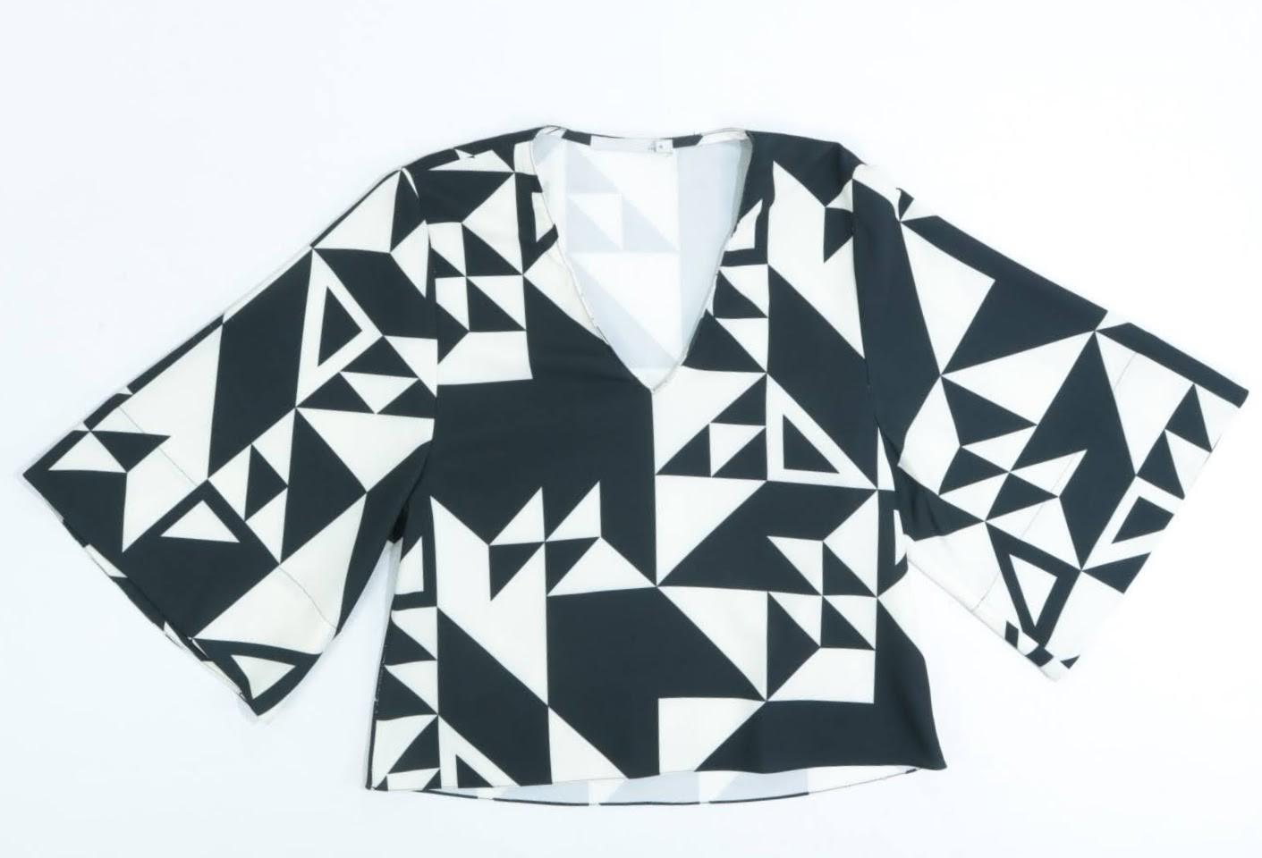 Blusa Manga Curta - Sacada - 38