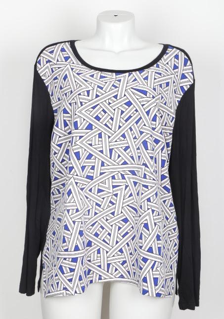 Blusa manga longa - Cia de moda - GG