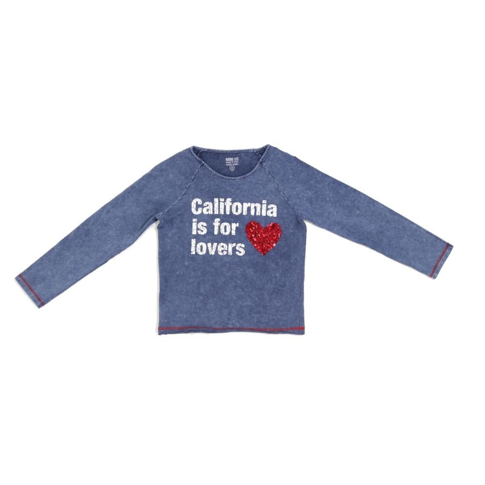 Blusa Mini U.S. - TAM 12 Anos