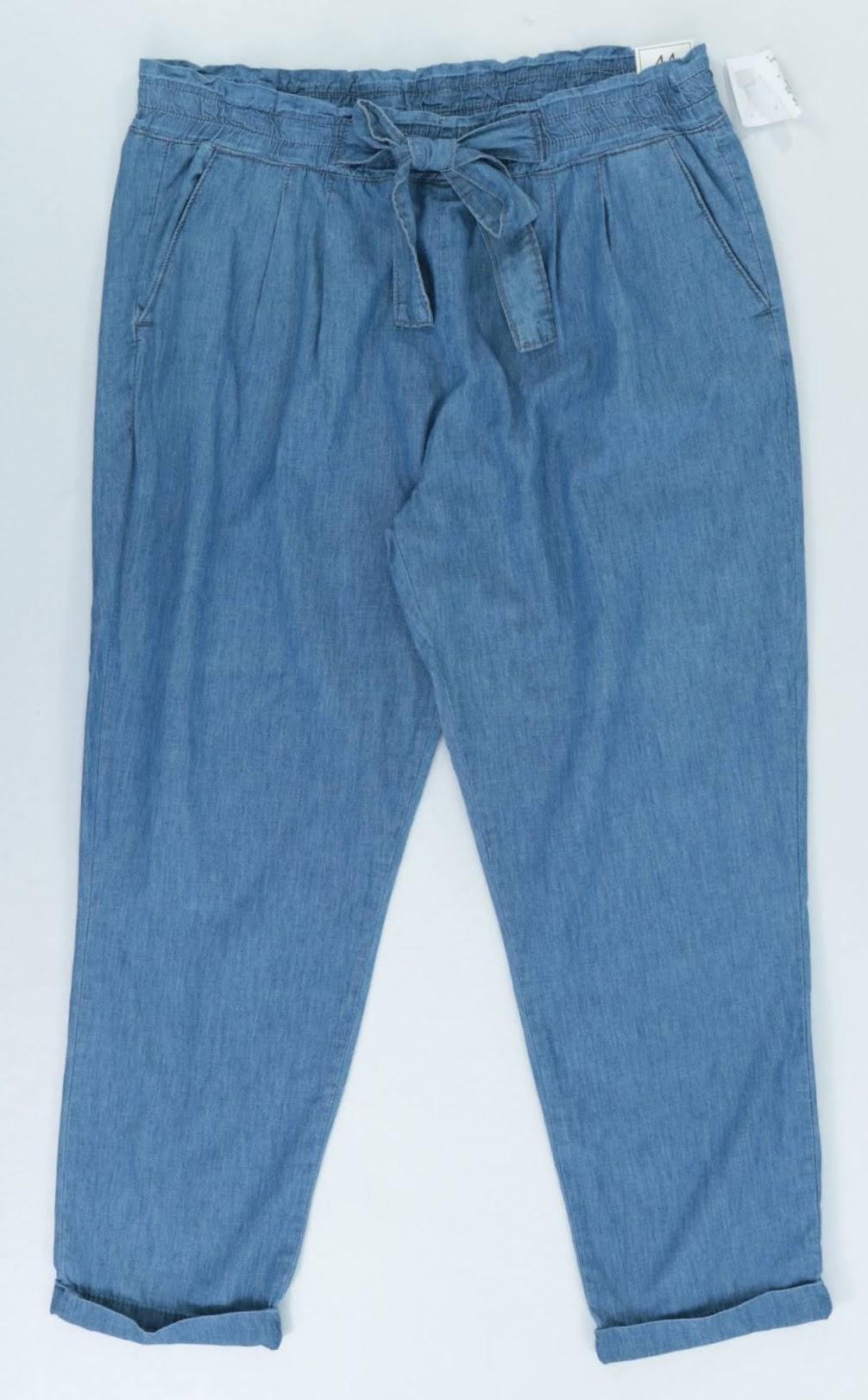 Calça Clochard Jeans - Yessica - 44