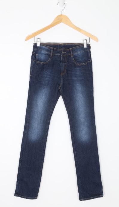 Calça Jeans - Azul - Puc - 12 anos