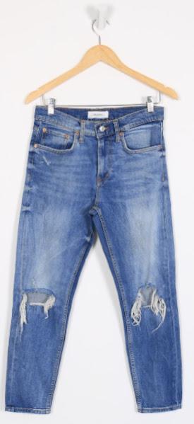 Calça Jeans Boyfriend - Zara - 36