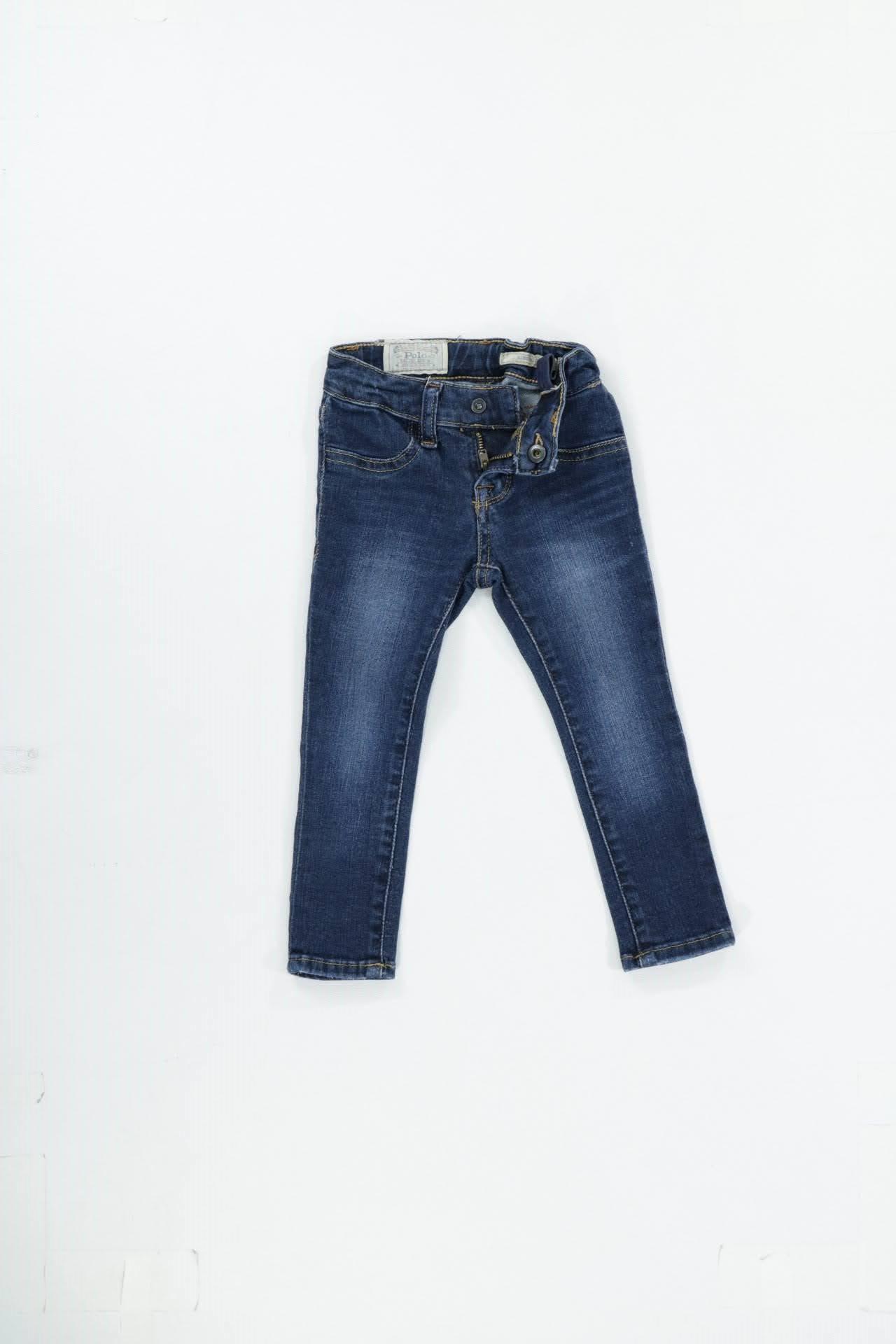 Calça Jeans  Polo  TAM.= 02anos