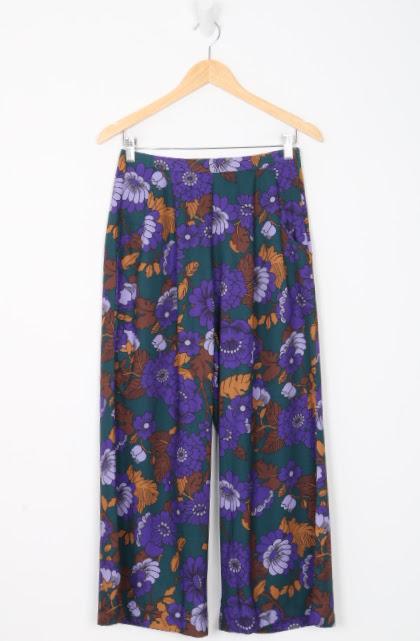 Calça Pantalona - Chocoleite - 38