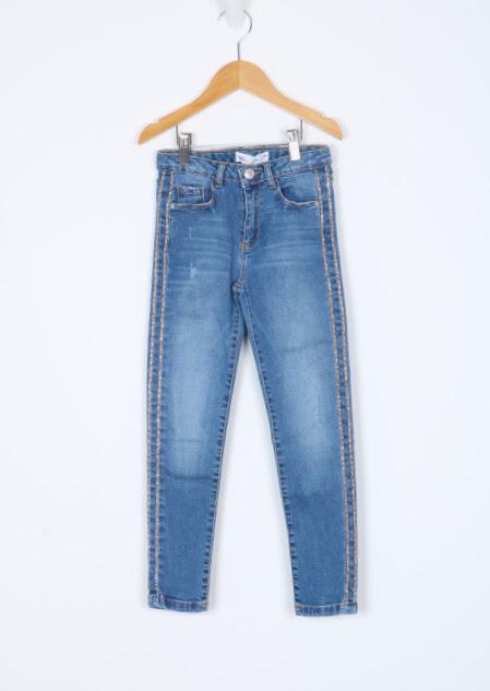 Calça skinny -  Zara - 08 Anos
