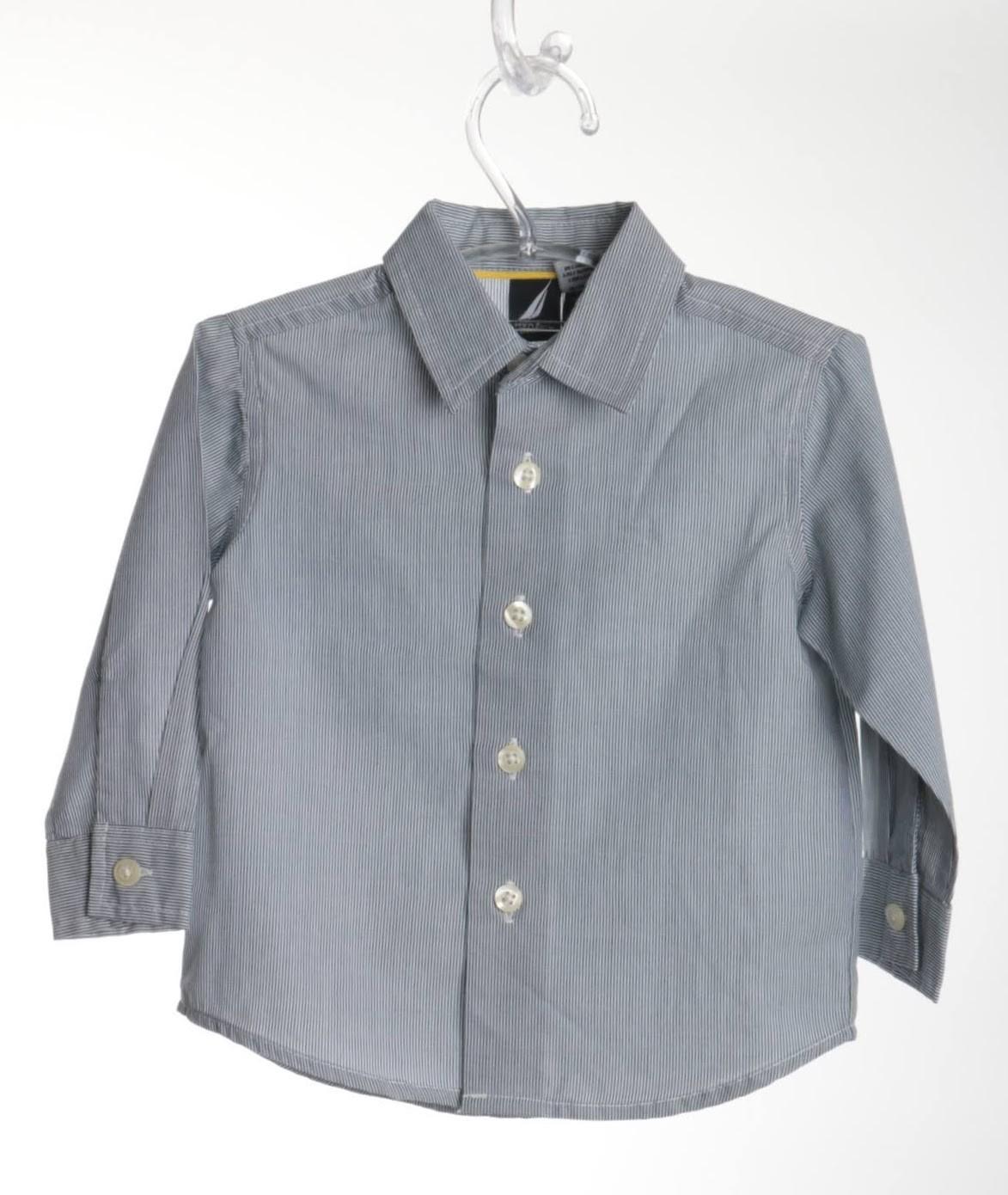 Camisa Listrada - Nautica - 06 Meses