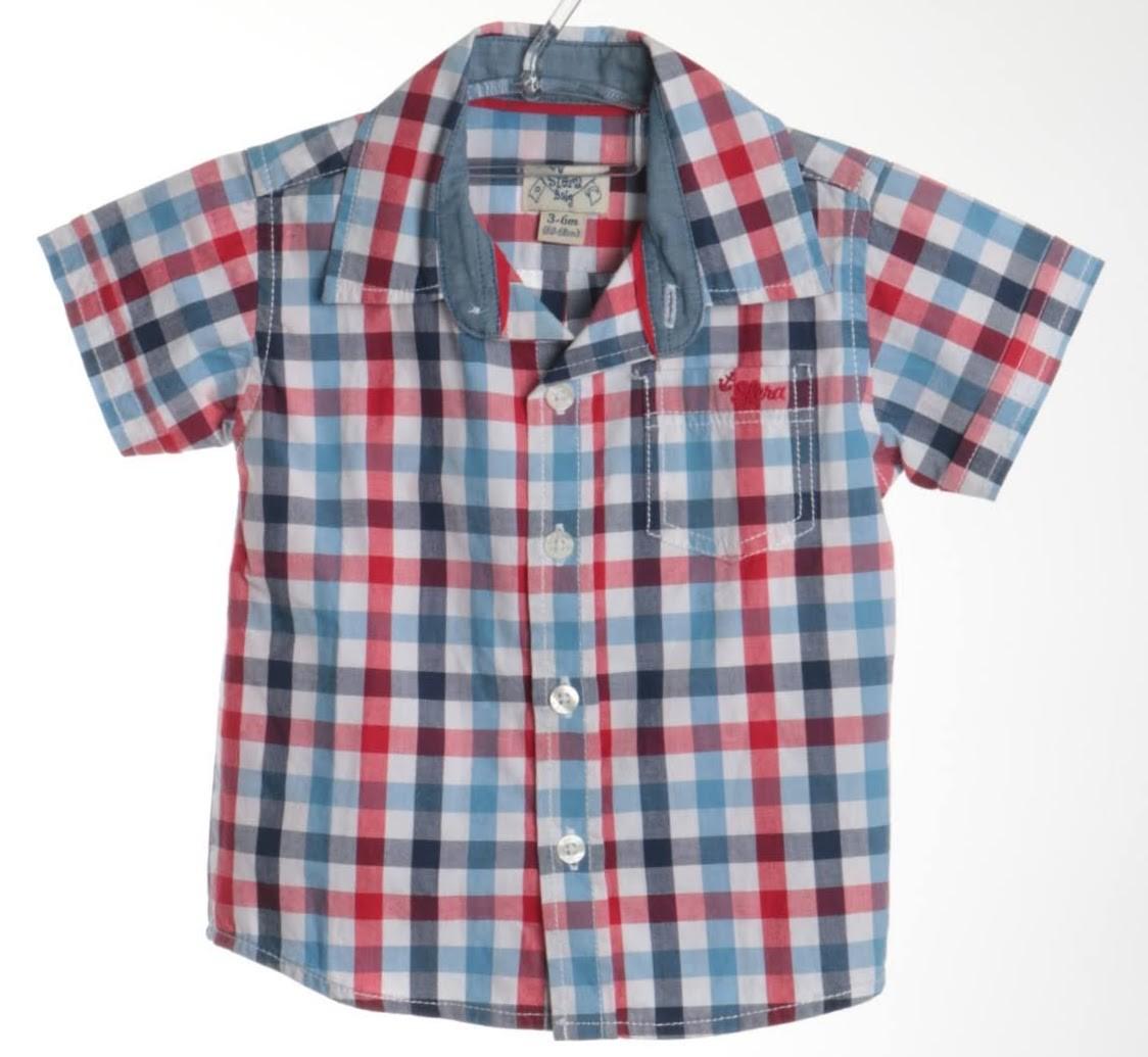 Camisa Manga Curta - Sfera Baby - 03 Meses