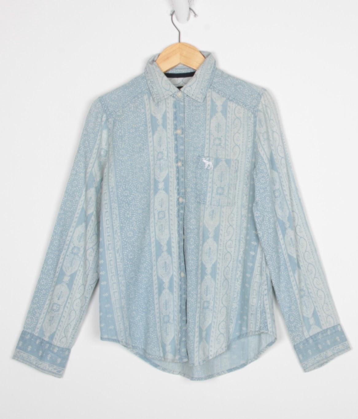 Camisa Manga Longa - Abercrombie - 09 Anos