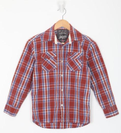 Camisa Manga Longa - Brooksfield - 08 Anos