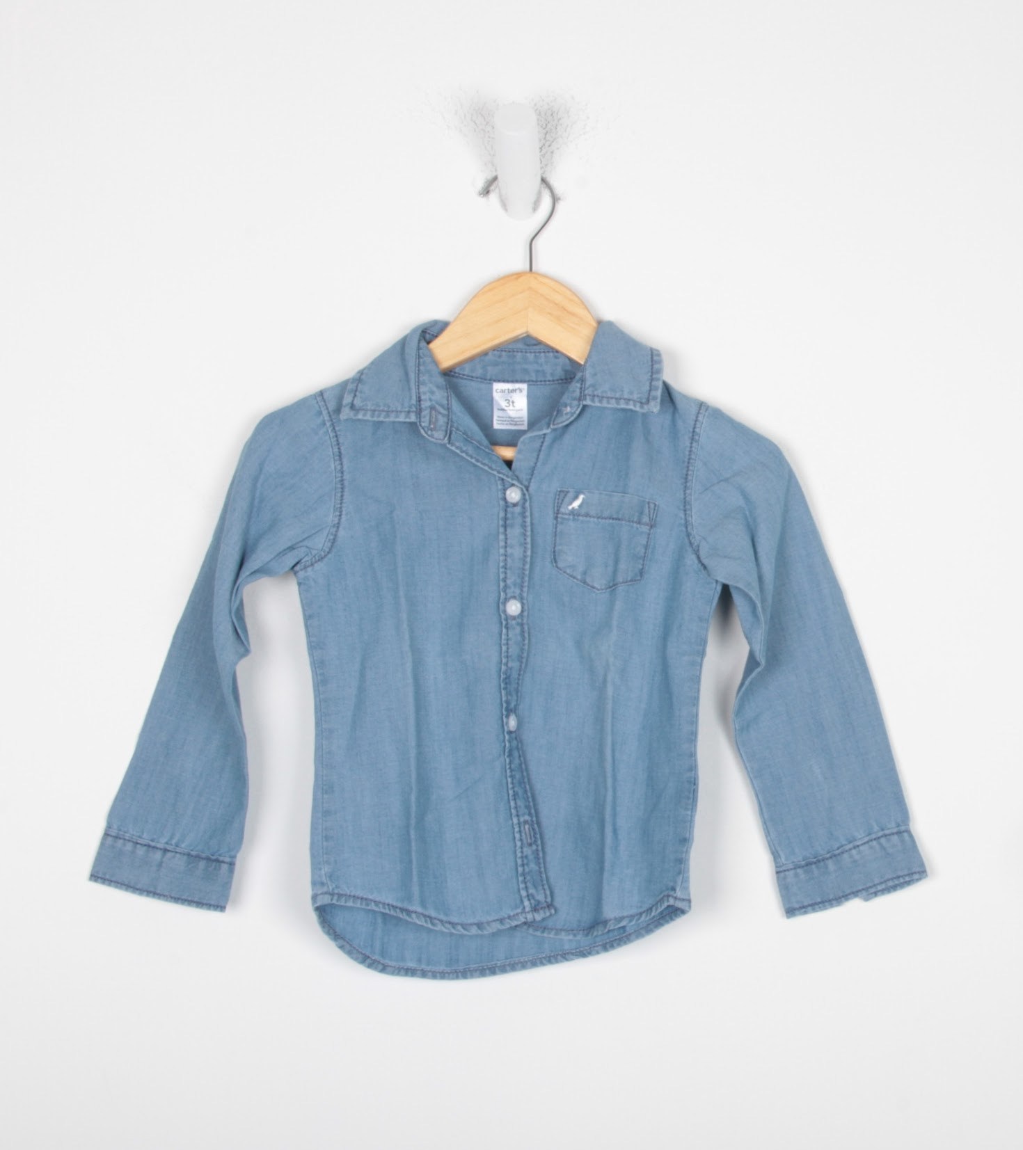 Camisa Manga Longa - Carter's - 3 Anos