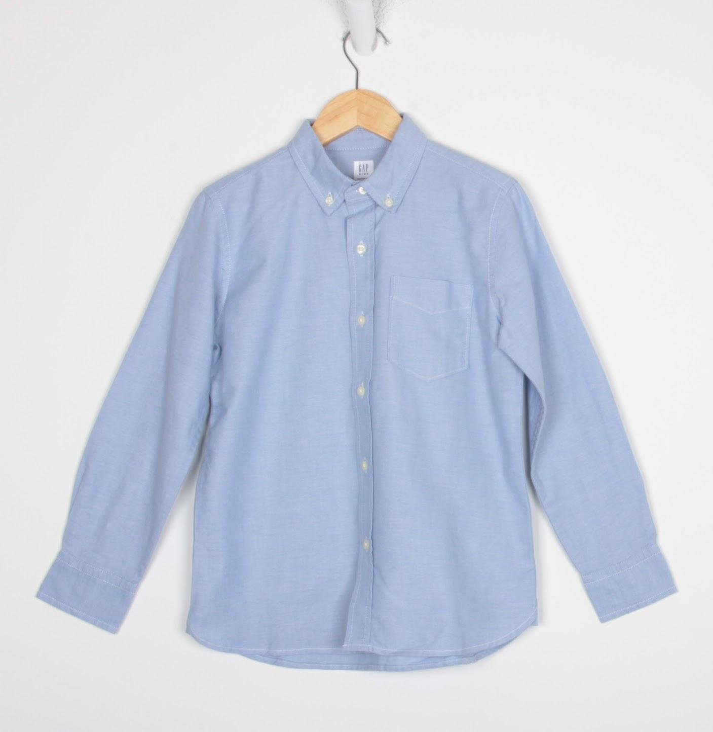 Camisa Manga Longa - Gap - 08 Anos