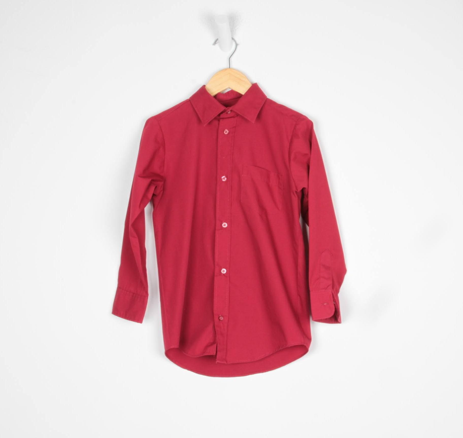 Camisa Manga Longa - George - 08 Anos