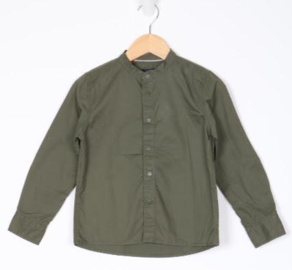 Camisa Manga Longa - Kiabi - 06 Anos