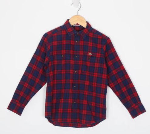 Camisa Manga Longa - Lacoste - 08 Anos