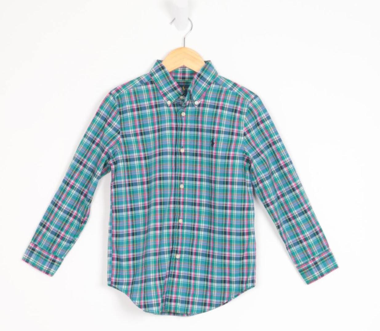 Camisa Manga Longa - Ralph Lauren - 06 Anos