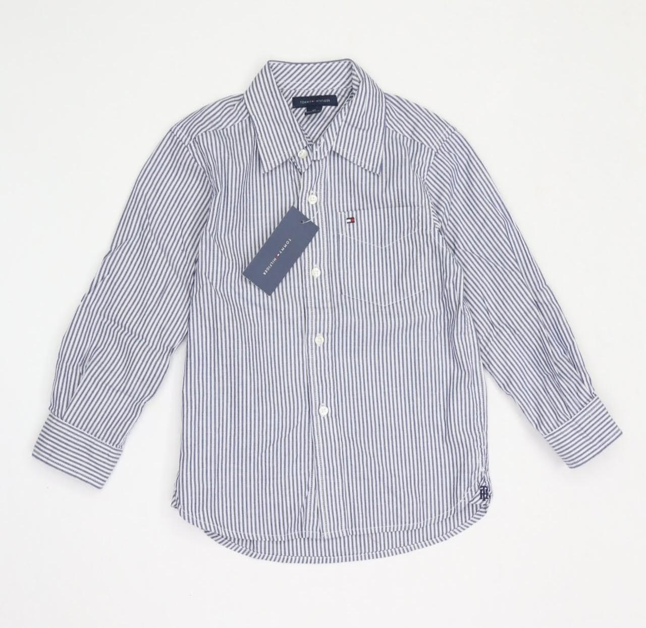 Camisa Manga Longa - Tommy Hilfiger - 04 Anos