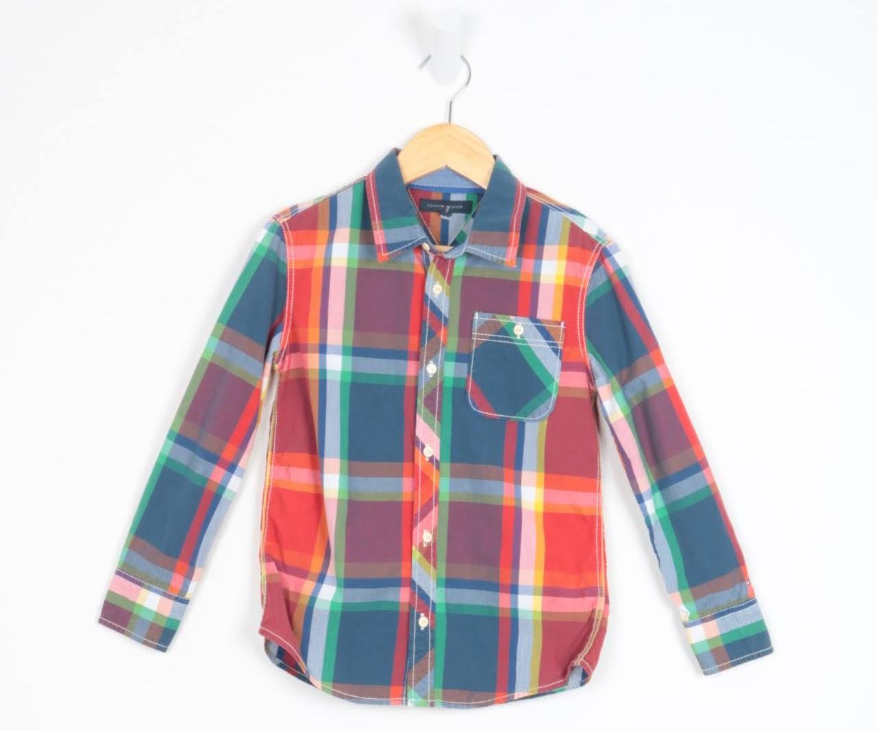 Camisa Manga Longa - Tommy Hilfiger - 07 Anos
