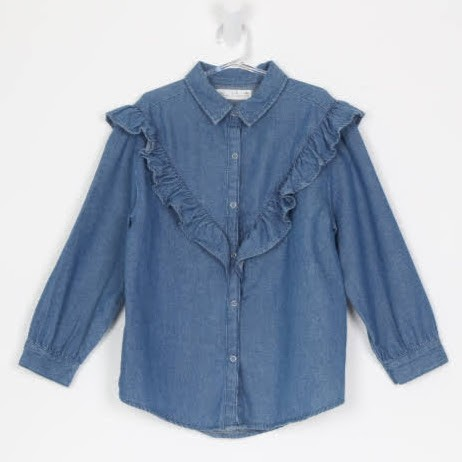 Camisa Manga Longa - Zara - 09 Anos