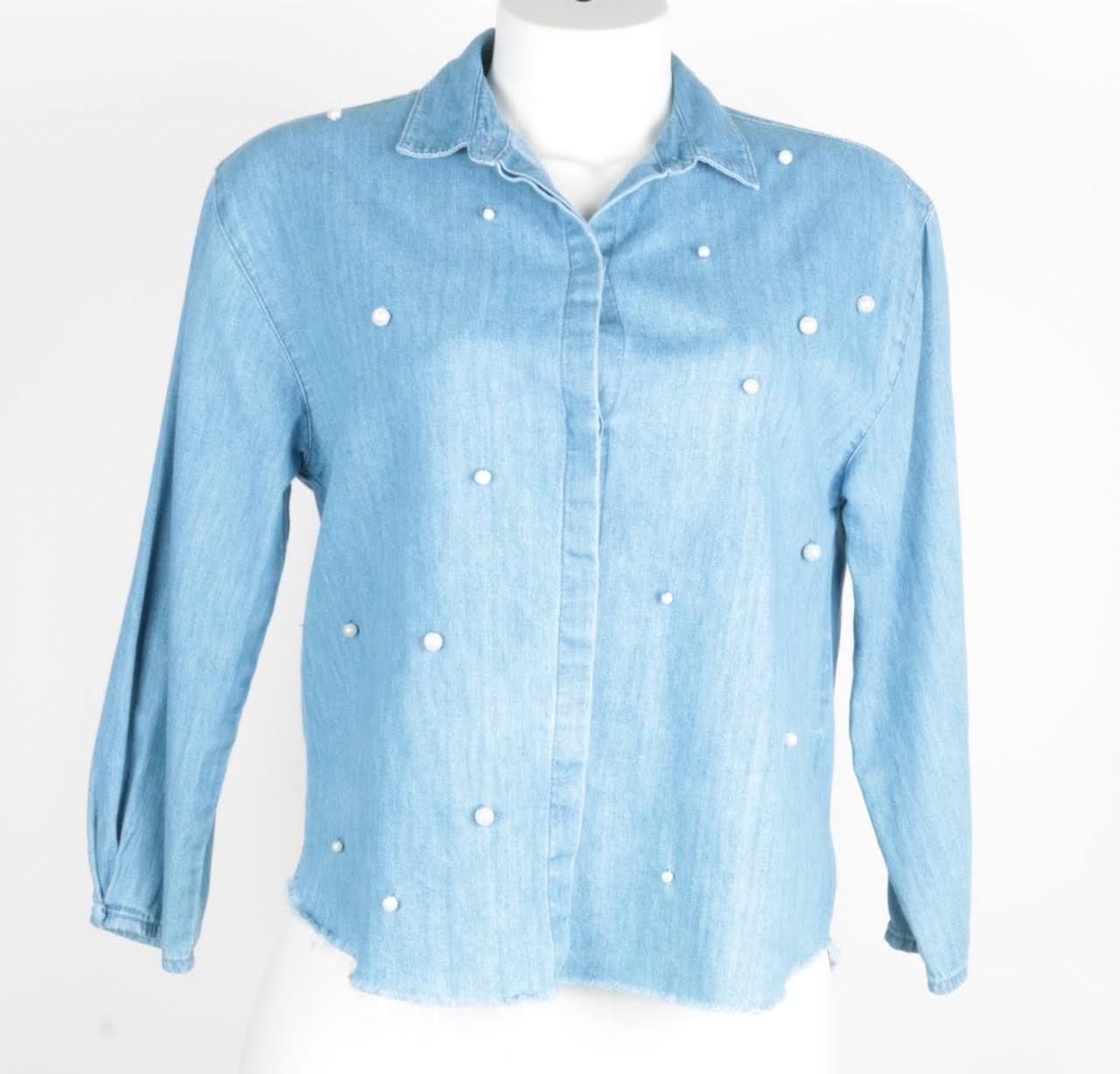 Camisa Manga Longa - Zara -  12 Anos