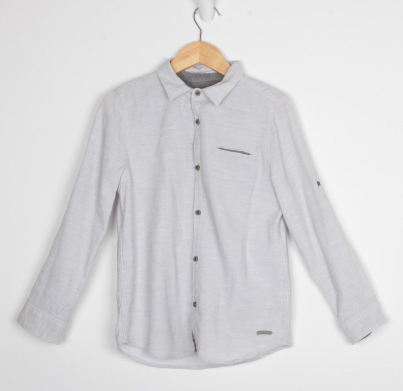 Camisa Manga Longa -  Zara - 8 Anos