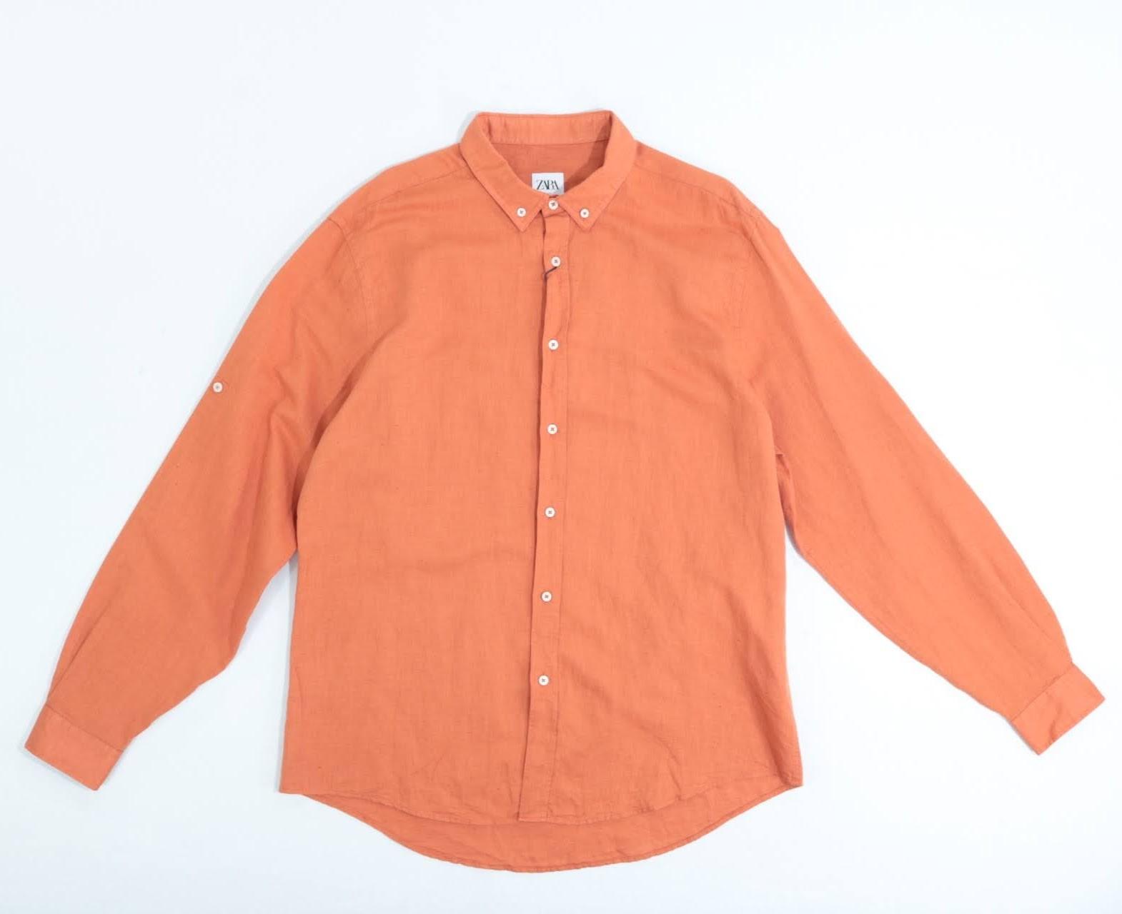 Camisa Manga Longa - Zara - G