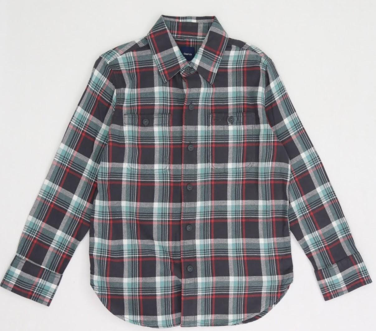 Camisa Xadrez - Gap - 07 Anos