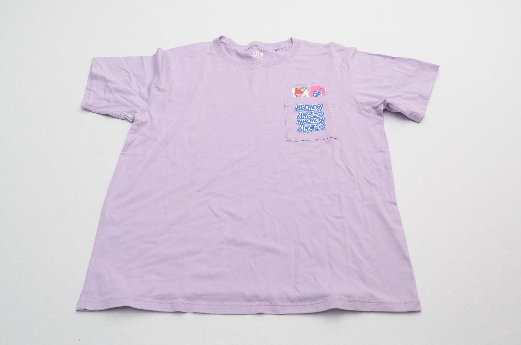 Camiseta Uni Qlo- Tam P