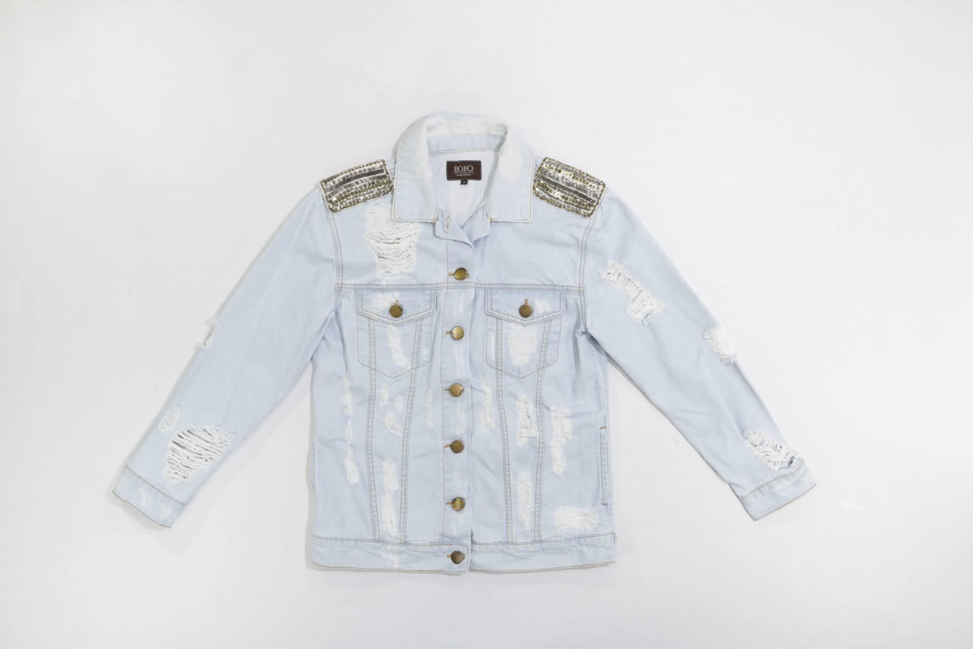 Jaqueta Jeans - Bo.Bô - P