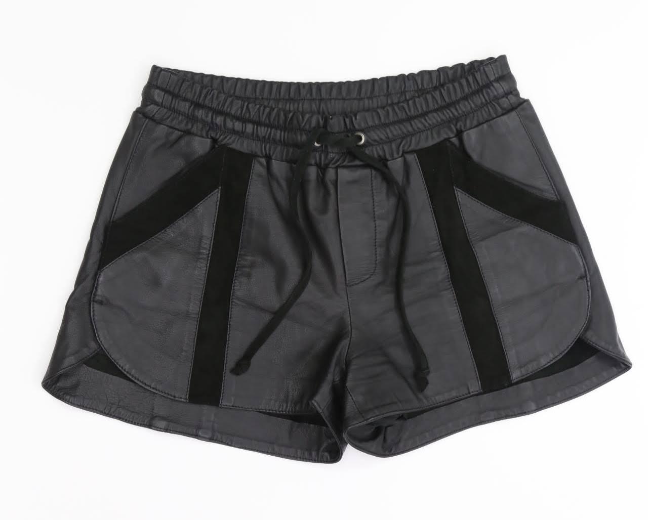 Shorts Couro - Cris Barros - 34
