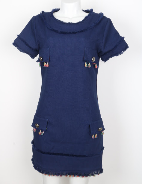 vestido Curto - Burlesque - 40