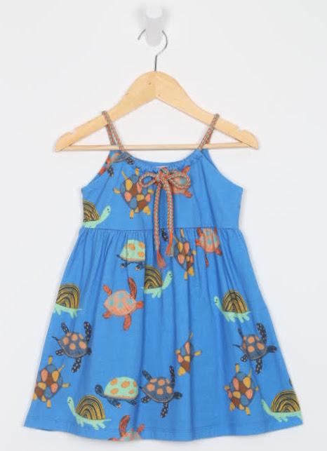 Vestido Curto - Fábula - 02 Anos