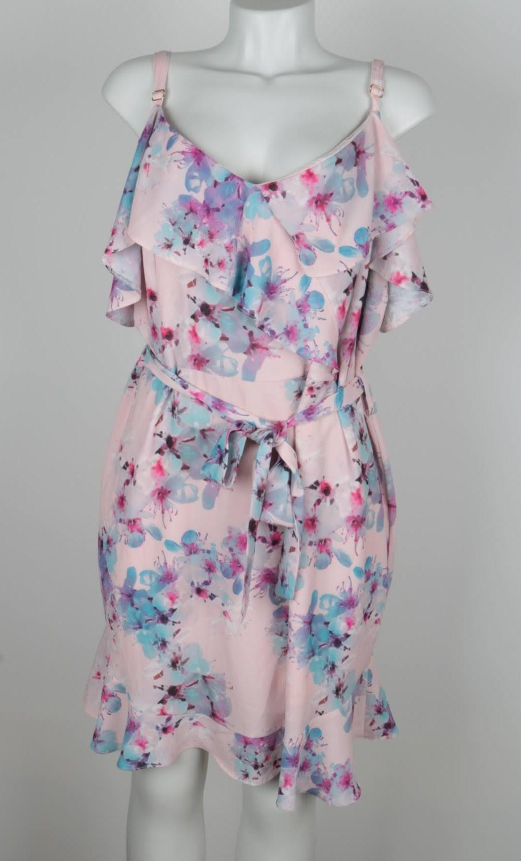 Vestido Curto - Hot Pink - GG