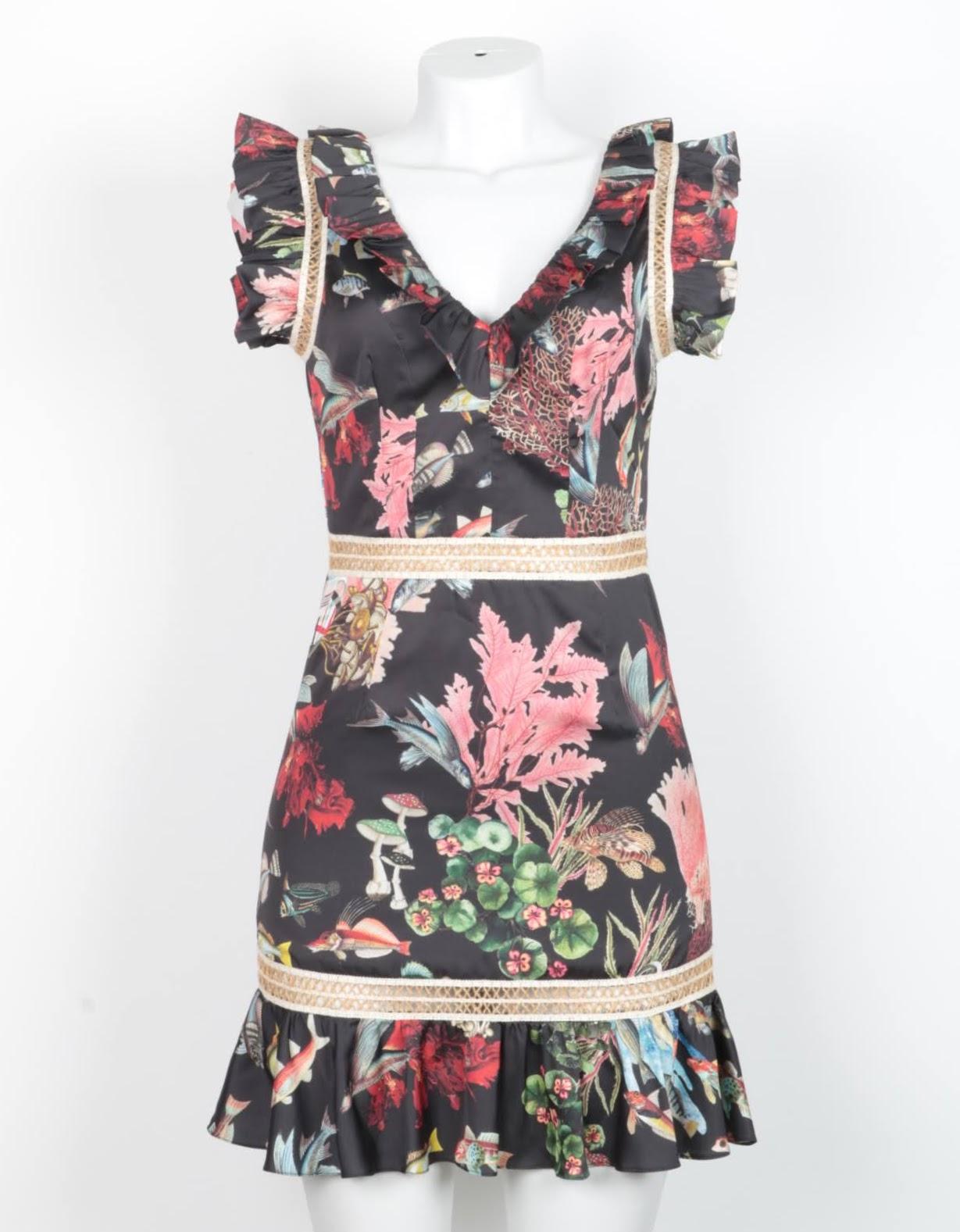 Vestido Curto - PATBO - 36
