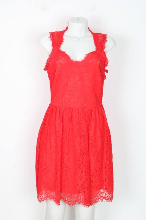 Vestido Curto - Red - P