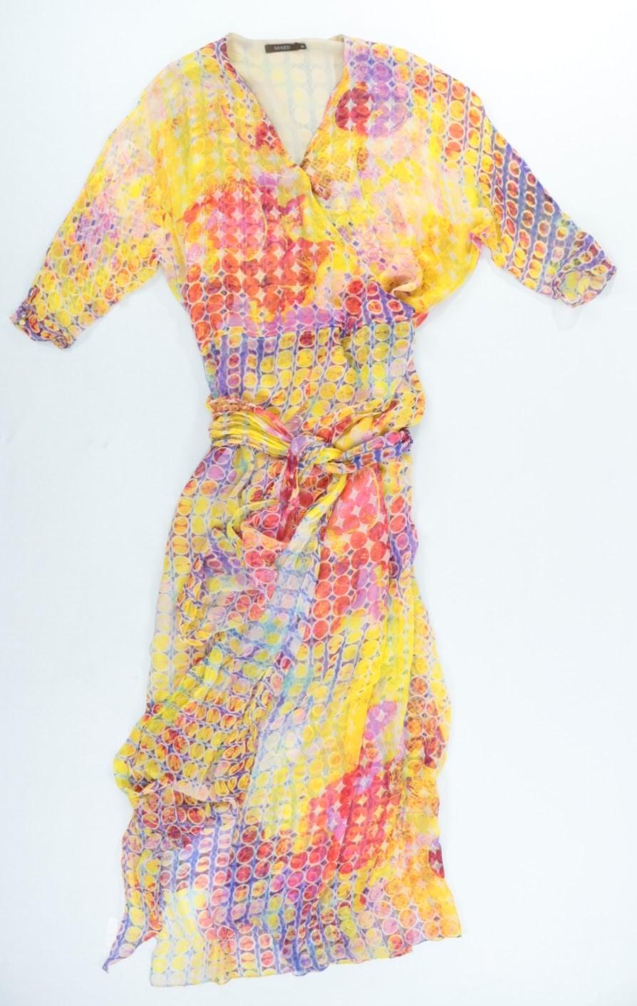 Vestido Longo - Mixed - 44