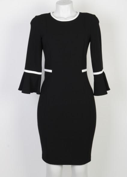 Vestido Midi - Calvin Klein - M