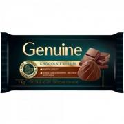 CHOCOLATE EM BARRA AO LEITE 1KG GENUINE