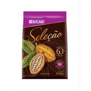 CHOCOLATE SELEÇÃO AMARGO 63% 2,05KG