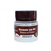 CORANTE EM PÓ BRANCO DIOXIDO DE TITÂNIO 15G MAGO