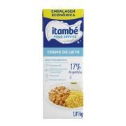 CREME DE LEITE 17% 1,01KG ITAMBÉ