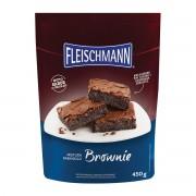 MISTURA PARA BOLO BROWNIE FLEISCHMANN 450G