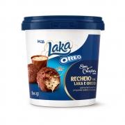 RECHEIO DE CHOCOLATE BRANCO LAKA OREO 1,05KG LACTA