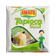 TAPIOCA GRANULADA 500G AMAFIL