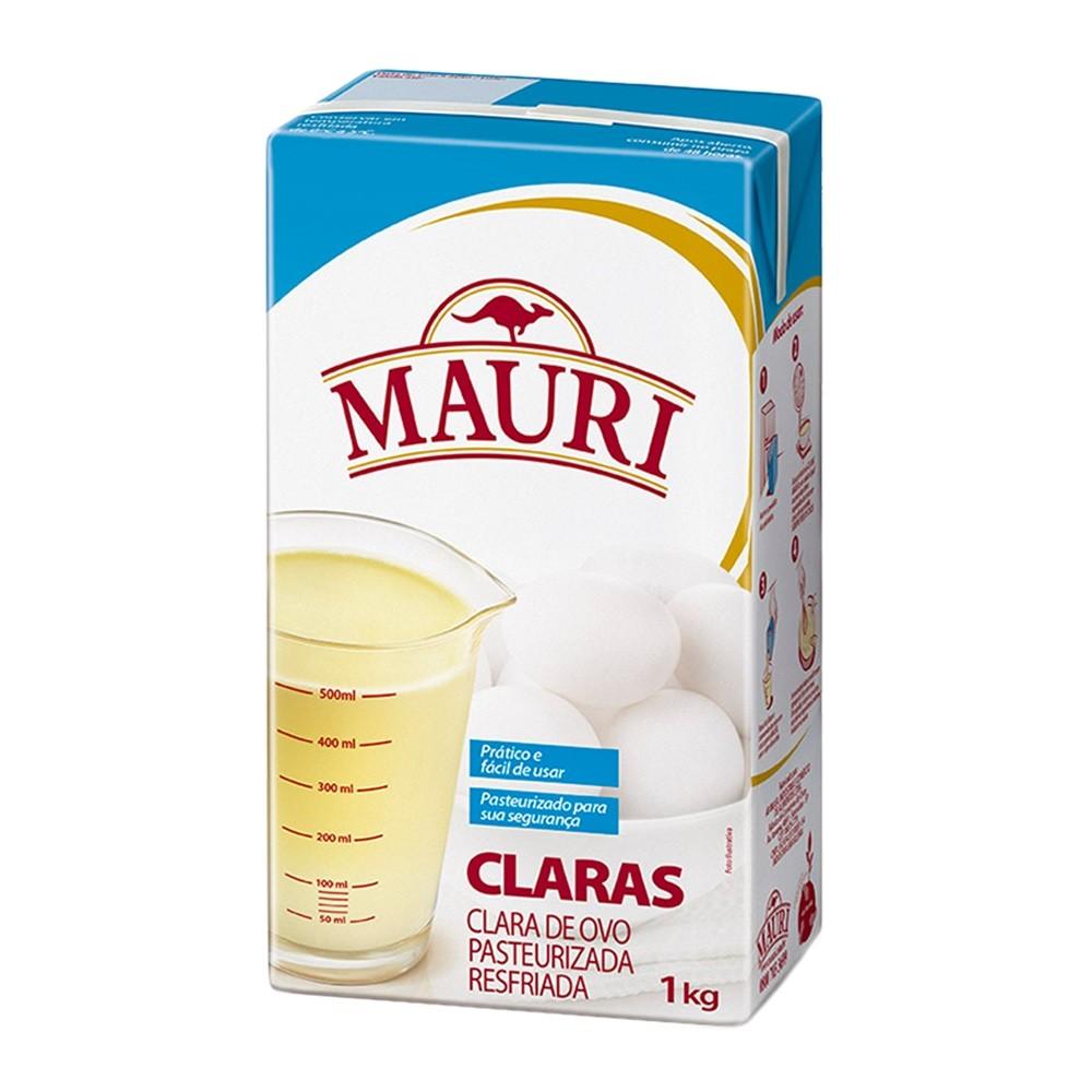 CLARA DE OVO PASTERIZADA 1L MAURI