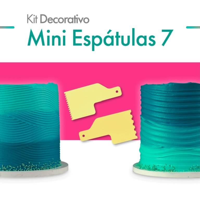 KIT'S MINI ESPÁTULAS DECORATIVAS BLUE STAR