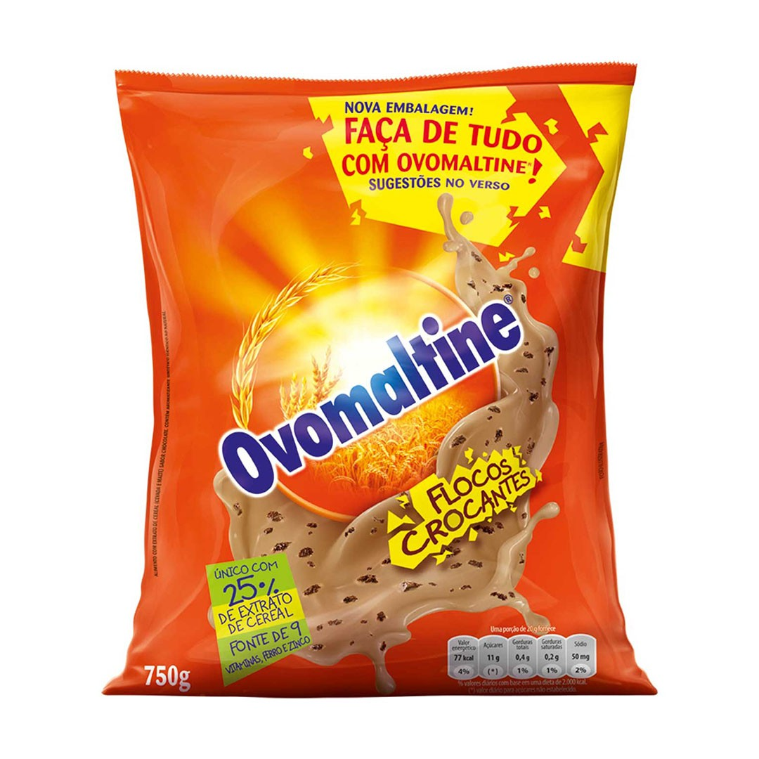 OVOMALTINE FLOCOS CROCANTE STRETCH 750G