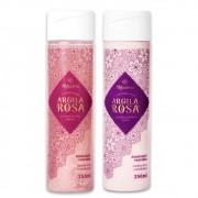Kit Shampoo e Condicionador de Argila Rosa Alkhadima